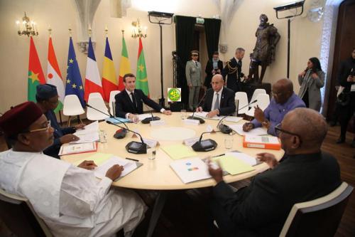 Le Président de la République prend part aux travaux du sommet de Pau sur la sécurité au Sahel