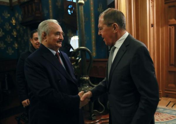 Libye: le maréchal Haftar quitte Moscou sans signer d'accord de trêve