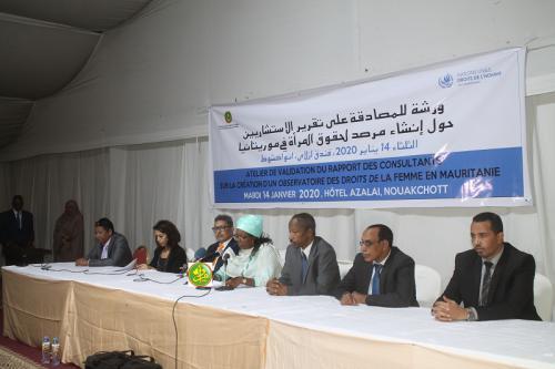 La protection et la promotion des femmes et les filles au coeur du programme de société du Président de la République