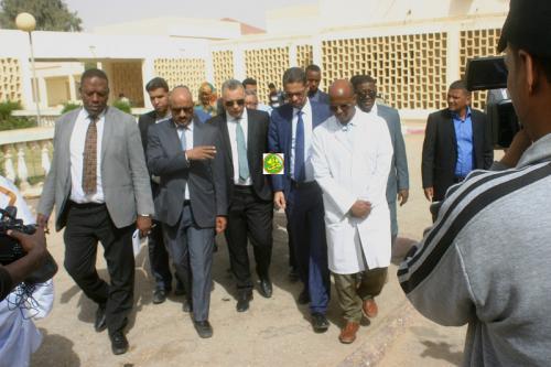 Le président de la Commission des Droits de l'Homme visite les centres de santé de Nouakchott-Ouest