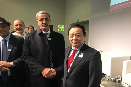 Ouverture des travaux du 12ème forum Mondial sur l'alimentation et l'agriculture à Berlin