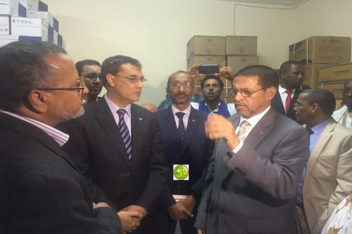 Le ministre de la Santé s'enquiert de la marche du travail au sein de la délégation régionale de la santé de Nouadhibou