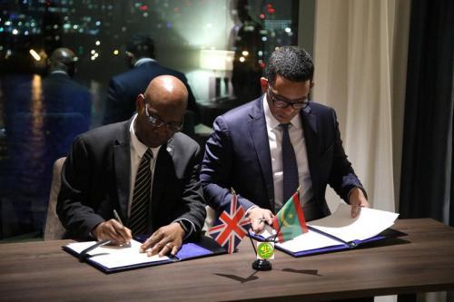 Signature d'un accord de partenariat entre la Mauritanie et BP dans le domaine des énergies propres