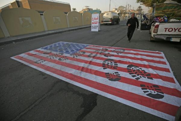 Bagdad: des milliers d'antiaméricains se rassemblent à l'appel d'un leader chiite