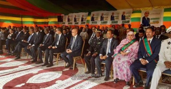 Le ministre du développement rural, M. Dy Ould Zeine, a effectué, mercredi, une visite de la ferme pilote d'Idini, mise en place par le projet régional d'appui à l'agriculture irriguée dans le Sahel en Mauritanie (PARISS) financé par la Banque Mondia
