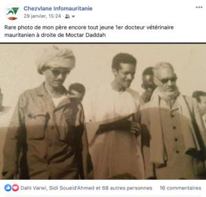 Une question à Ehl Cheikh Sidiya à propos des Soueid Ahmed de Boutilimit…