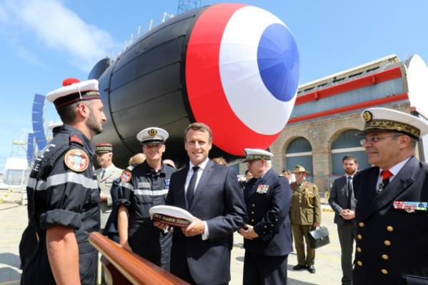 Dissuasion nucléaire: Macron livre sa vision et des propositions à l'Europe