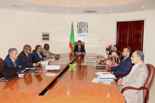 Réunion du comité interministériel chargé du suivi de la réforme du secteur des technologies de l'information et de la communication