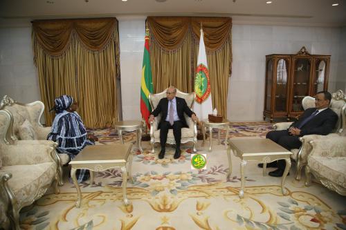 Le Président de la République reçoit les lettres de créances du nouvel ambassadeur de Guinée-Conakry