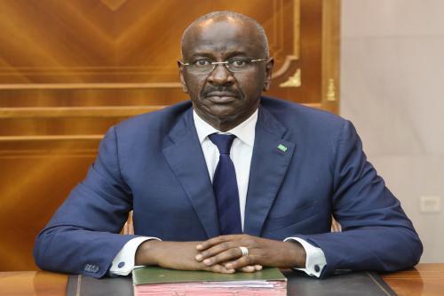 Le ministre de l'intérieur s'entretient avec l'ambassadeur Sierra-Léonais