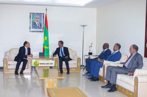Le Premier ministre reçoit le secrétaire général de l'Union Internationale des Télécommunications