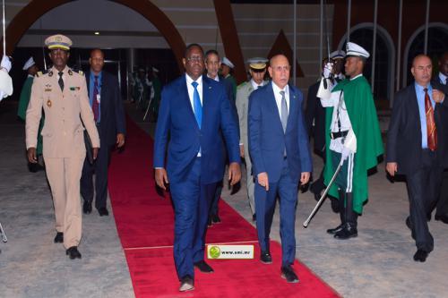 Départ du Président sénégalais