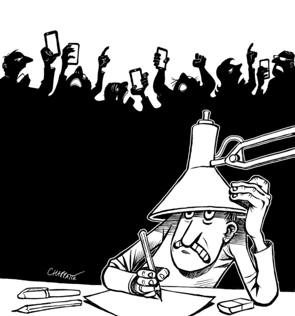 Libération de 5 des 14 activistes