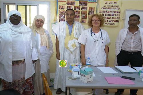 Une mission médicale espagnole consulte des malades à Nouadhibou