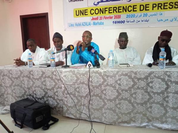 La CVE/VR dévoile sa plateforme « Nous ne vivons pas ensemble, mais côte à côte, en nous tournant le dos », déclare Dr. Dia Alassane, président de la coalition