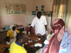 Dar Naïm : les Clubs Lions, Léo et l'AMLCD se mobilisent contre le diabète