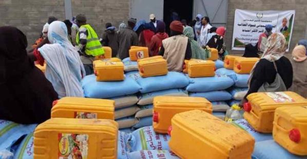 Nouadhibou : distribution de vivres à 5000 familles nécessiteuses