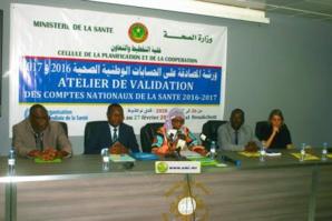 Lancement de l'atelier national de validation des comptes nationaux de la santé