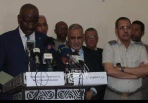 Conférence de presse du ministre de l'Intérieur: Ould Merzoug tape du point sur la table