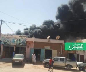 Un incendie au marché de Sebkha à Nouakchott