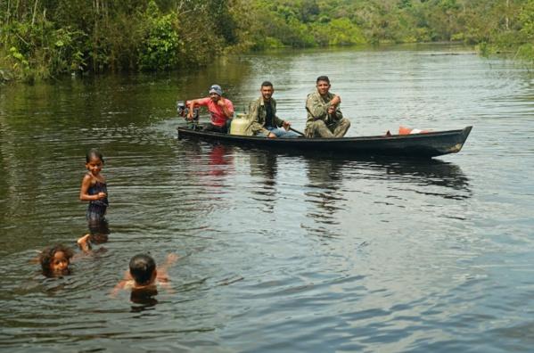 Les jeunes d'Amazonie mobilisés pour protéger leur forêt