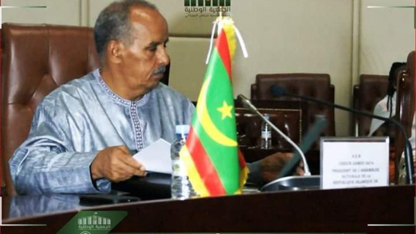 Le président de l'assemblée nationale à l'ouverture de la session parlementaire : « éviter de véhiculer des informations alarmantes »
