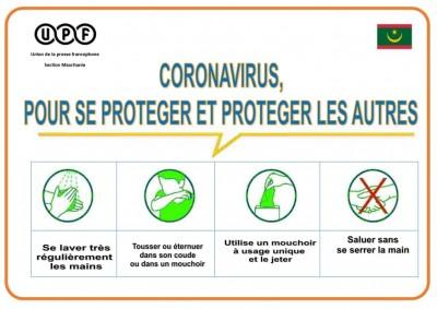 Covid-19 : La Section mauritanienne de l'UPF participe à la campagne nationale de sensibilisation
