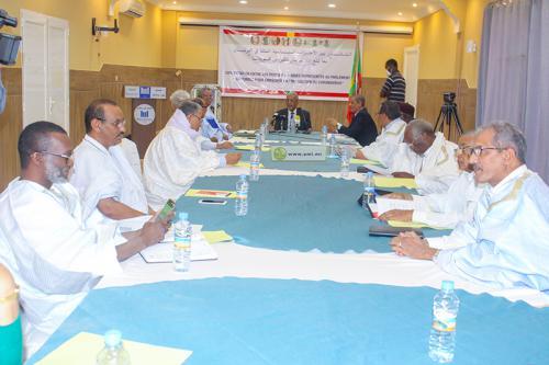 Deuxième réunion de coordination des partis politiques représentés au parlement