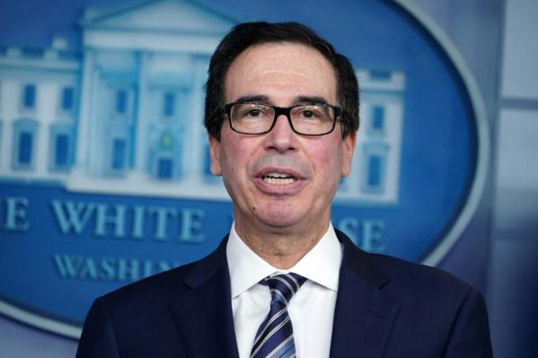 Le secrétaire américain au Trésor promet aux PME que l'aide va couler à flots