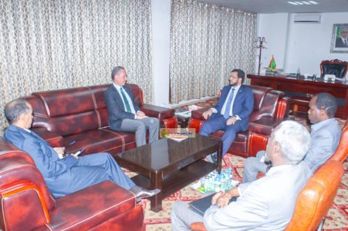 Le ministre des Affaires islamiques reçoit le représentant de l'UNICEF en Mauritanie