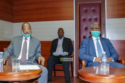 Les ministres de l'Enseignement supérieur et de la Justice commentent les travaux du Conseil des ministres