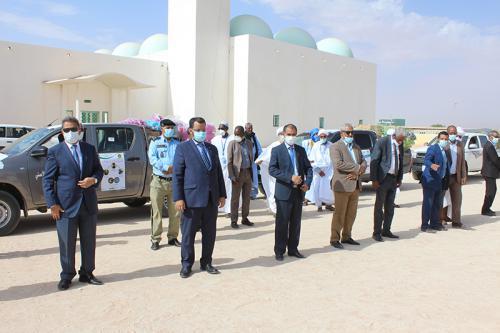 Acheminement des produits d'hygiène et de stérilisation vers des mosquées à l'intérieur du pays