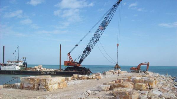 Mauritanie : la construction du port de N'Diago touche à sa fin