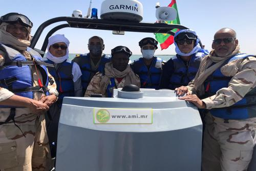 Le wali du Trarza effectue une visite aux points de passage frontaliers de la wilaya