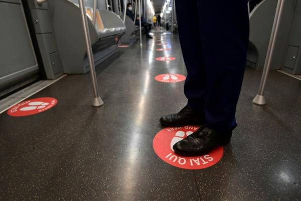 Le métro de Milan met en musique la distanciation sociale