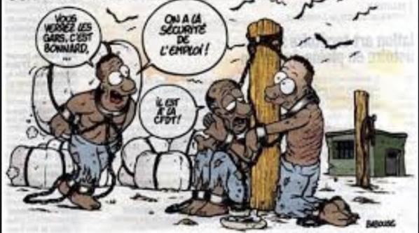 Grogne de dockers de Nouadhibou