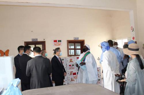 UPR : Distribution de paniers alimentaires à des familles démunies de Riyad