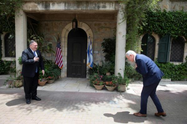 En visite à Jérusalem, Pompeo discute Iran et annexion de territoires palestiniens