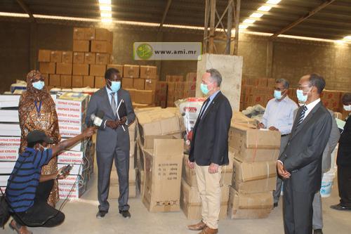 Don de l'UNICEF à la Mauritanie