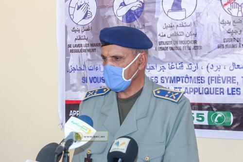 La délégation générale de la protection civile et de la gestion des crises et la direction de l'emploi consentent des aides aux familles des martyrs