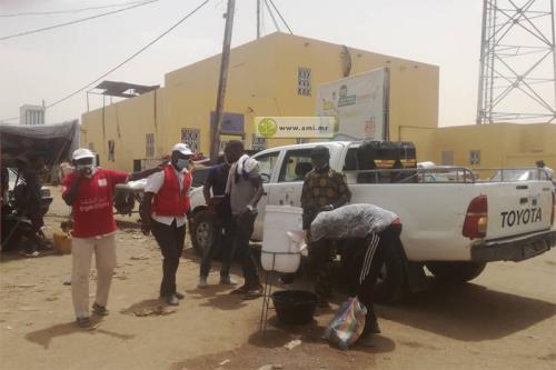 Gorgol : Rigueur dans l'application des mesures préventives du covid-19 dans les marchés de Kaédi