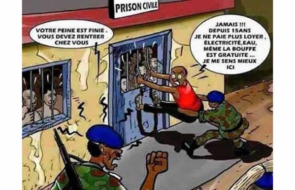 Grâce présidentielle pour 109 détenus de droit commun