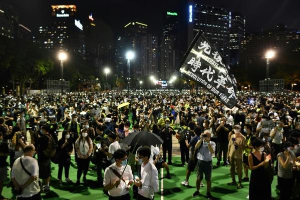 Des milliers de Hongkongais commémorent Tiananmen, malgré l'interdiction