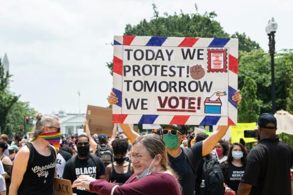 """""""Black lives matter"""": journée de manifestations pacifiques en Amérique"""