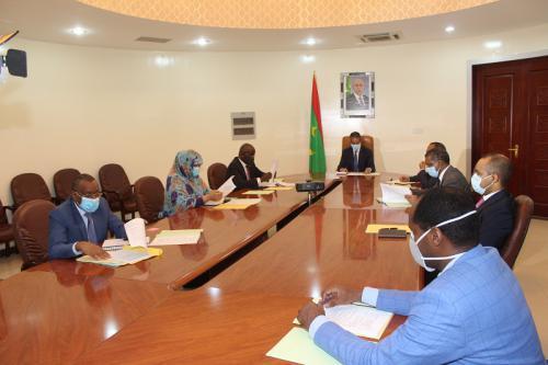 Réunion du comité interministériel chargé des urgences et inondations