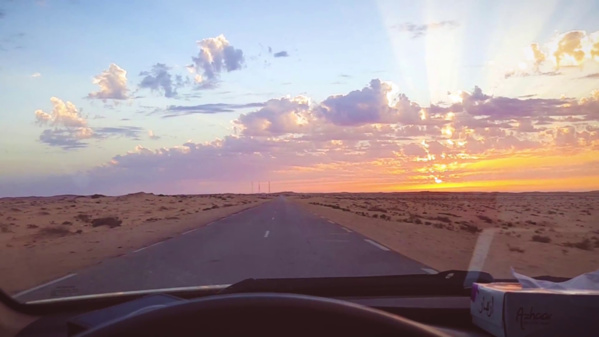 Poursuite du désensablement de la route Nouakchott-Nouadhibou