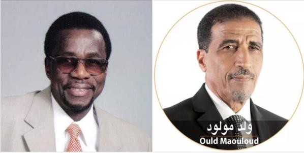 Sortie de Mohamed ould  Maouloud de l'UFP réplique…du président Samba Thiam des FPC.