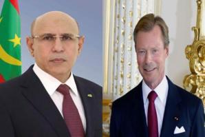 Le Président de la République félicite le Grand-duc de Luxembourg