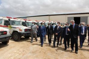 Kinross Tasiast remet au Gouvernement mauritanien un don de 38 ambulances pour l'appuyer dans ses efforts de lutte contre le COVID-19