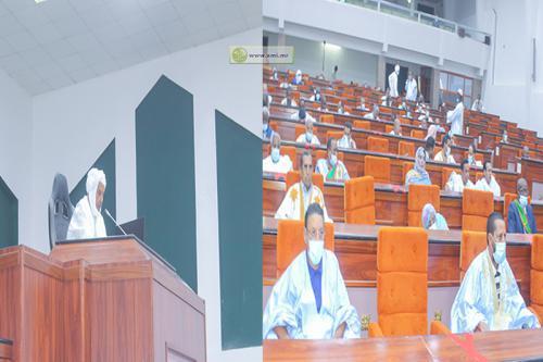 Ouverture de la première session ordinaire de l'année parlementaire 2020-2021